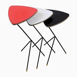 Nesting Tables by Coen De Vries for Devo, 1950s, Set of 3