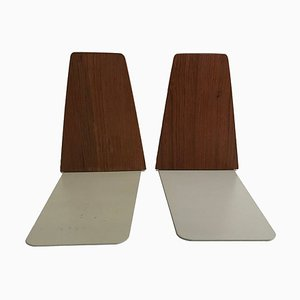 Teak Bookends by Kai Kristiansen, 1960s, Set of 2