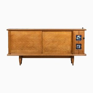 Sideboard by Robert and Jacques Guillerme Chambron, 1950s