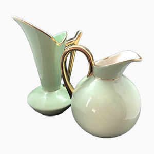 Belgium Pitchers by Raymond Chevallier From Boch Frères, Set of 2