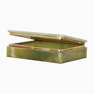 Italian Green Onyx Box, 1960s