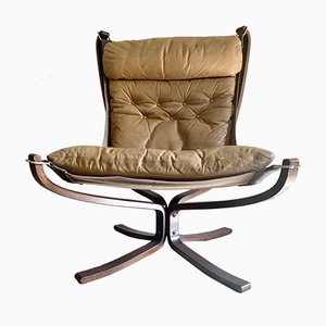 Vintage Falcon Lounge Chair by Sigurd Ressell