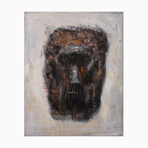 Massimo D'Orta, Testa Di Reduce, Oil on Canvas
