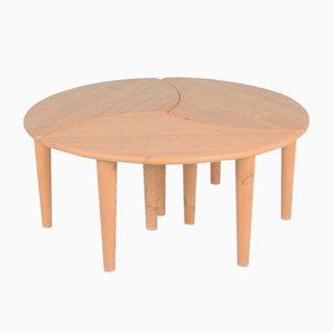 Table Basse Modulable 3-en-1 Vintage