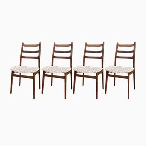 Mid-Century Dining Chair Set from Casala, Set of 4