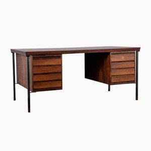 Scandinavian Rosewood Desk by Peter Hvidt & Orla Mølgaard-Nielsen for Søborg Møbelfabrik, 1960s