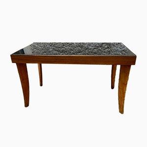 Holz & Glas Tisch