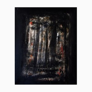 Massimo D'Orta, The Great Winter Am.6, Öl auf Leinwand