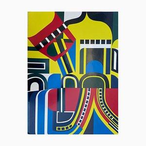 Jean Dewasne, Untitled, 1969, Screen Print