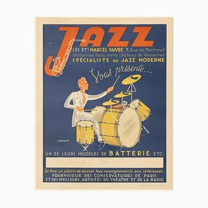 Vintage Jazz Poster Advertisement