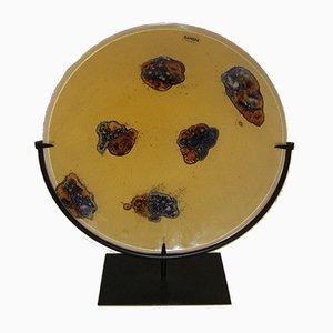 Vintage Kunstobjekt aus Muranoglas von Alfredo Barbini