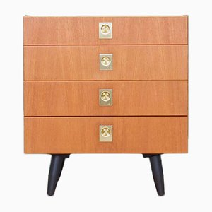Danish Ash Chest of Drawers from Æjm Møbler, 1970s