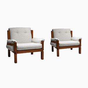S15 Armchairs by Pierre Chapo, Set of 2