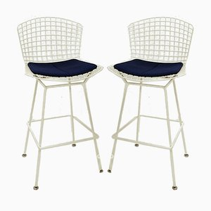 American Wire Bar Stools by Harry Bertoia for Knoll, 1950s