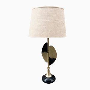 Vergoldete Vintage Messing Lampe