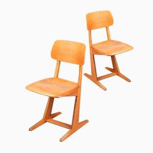 Chaises d'Enfant Vintage de Casual, Set de 2