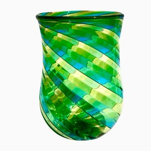 Italian Murano Glass Drinking Set by Ballarin Angelo for Ribes Studio, Set of 6