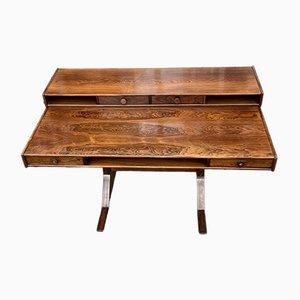 Santos Rosewood Desk by Gianfranco Frattini for Bernini, 1963