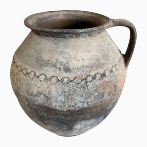 Antique Romanian Terracotta Cooking Pot