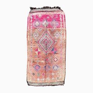 Handgeknüpfter Berber Boujad Wollteppich