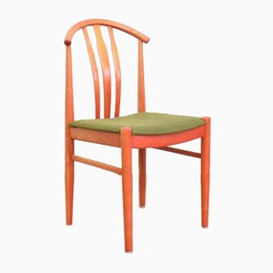 Mid-Century Swedish Dining Chairs by C. Ekström for A. Johansson & S. Hyssna, 1960s, Set of 4