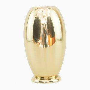 German Brass Vase from WMF Ikora, 1920s