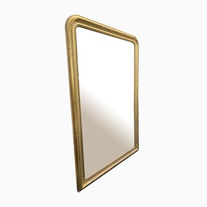 Louis Philippe Gilded Gold Mirror