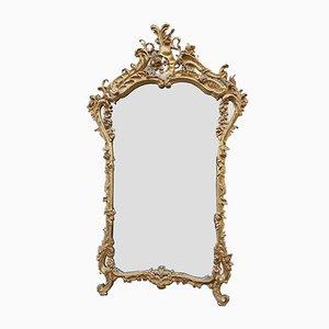Large 19th Century Wood Mirror