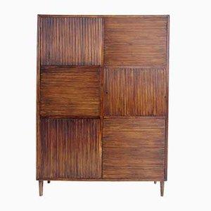 Italian Wooden Wardrobe, 1940s