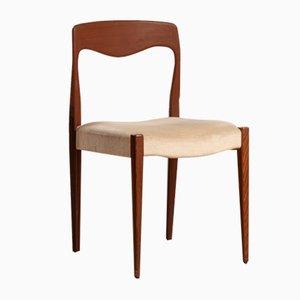 Vintage Teak Chair, 1960s, Set of 6