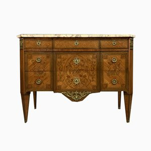 Louis XVI Wooden Chest of Drawers, 1800s