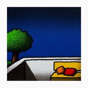 Tino Stefanoni, Pillows, Colored Screenprint
