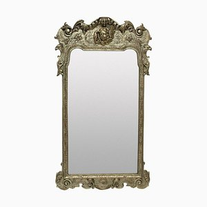Queen Anne Style Silvered Mirror, 1930s