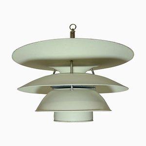 Dänische Deckenlampe von Louis Poulsen, 1950er