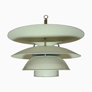Danish Ceiling Lamp by Louis Poulsen, 1950s