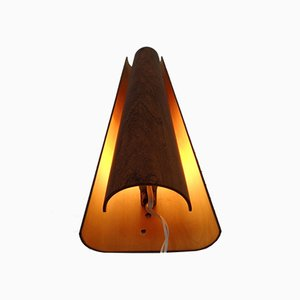 Danish Teak Wall Lamp, 1950s