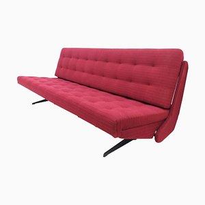 Sofá ajustable rojo, 1968