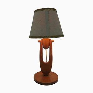Lámpara de mesa ajustable vintage, años 50
