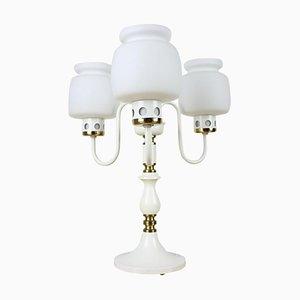 Lámpara de mesa de Drukov Brno, años 70