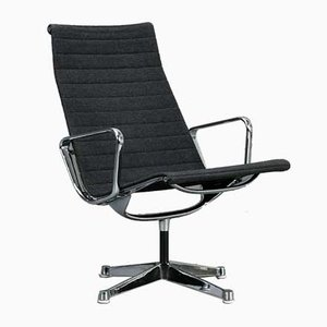 Aluminum EA 116 Model 682 Gray Lounge Chair by Herman Miller for Vitra