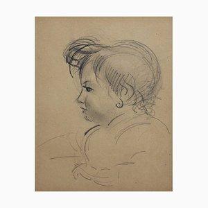 Portrait eines jungen Mädchens von Guillaume Dulac, 1920er