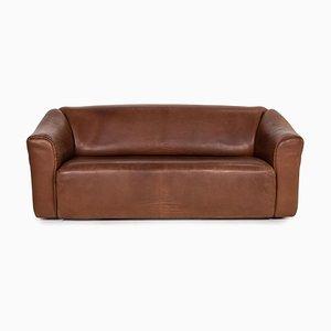 Sofá DS 47 de cuero marrón de de Sede