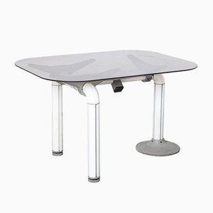 Schirolli Desk in White and Grey