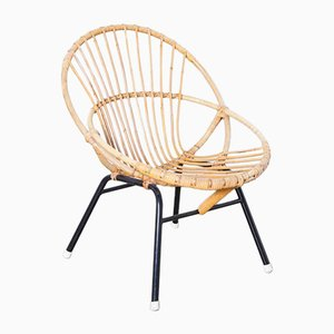 Rattan Chair by Rohé Noordwolde