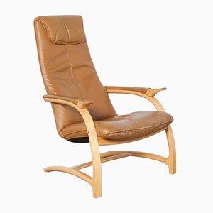 Skandinavischer Freischwinger Sessel