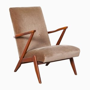 Dutch High Back Armchair