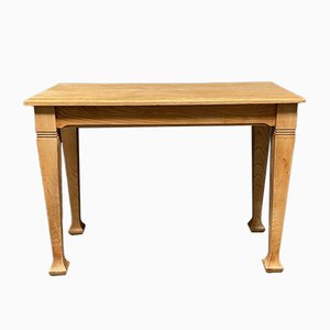 Mesa de centro belga de madera de olmo