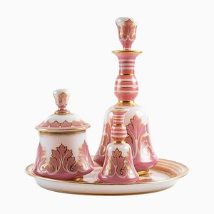 Late 19th Century Opaline Night Service Set
