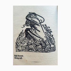 Ernst Barlach - Der Kopf - Illustrated Book - 1919