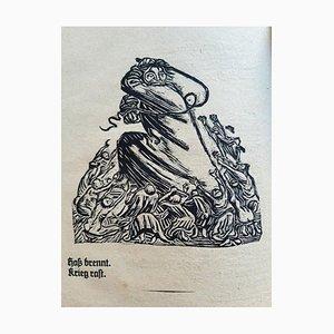 Ernst Barlach - Der Kopf - Illustriertes Buch - 1919